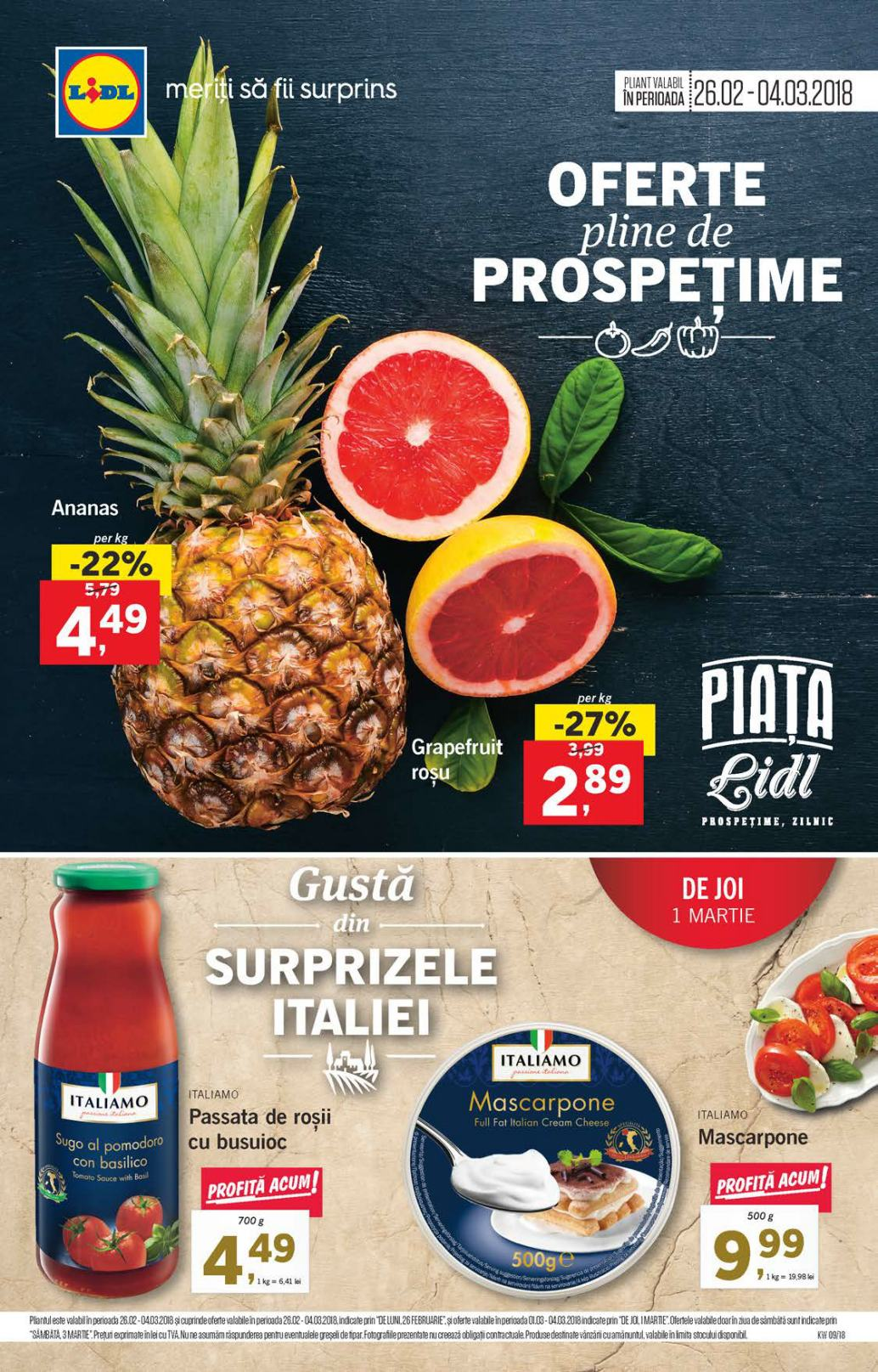 Catalog lidl 26 februarie 04 martie 2018 catalog az for Cataleg lidl