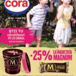 Cora Alimentar & Reduceri Inghetata 30 Mai – 05 Iunie 2018
