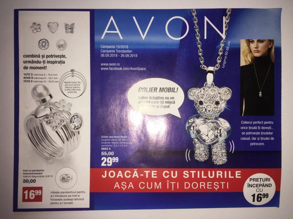 Catalog Avon Mini Brosura C15 2018