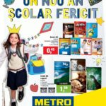 Metro Nou an Scolar 01 August – 01 Octombrie 2018