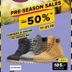 Hervis Sports Pre-Season Sales 11-21 Octombrie 2018