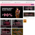 Fashion Days Black Friday 2018 – Cel mai asteptat Fashion Sale al Anului