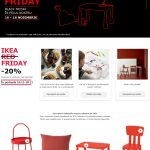 IKEA Red Friday 16-18 Noiembrie 2018