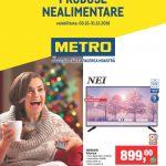 Metro Produse Nealimentare 03-31 Decembrie 2018