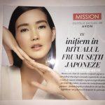 Avon Pliant Mission 2019 – Ritualul Frumusetii Japoneze