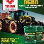 uleidemotor.com TRIAX Agra 2019, Uleiuri pentru Utilaje Agricole