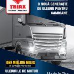 uleidemotor.com TRIAX Fleet 2019, Uleiuri pentru Camioane