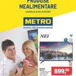 Metro Oferte la Produse Nealimentare Martie 2019