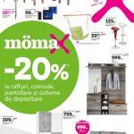 Momax Reduceri Rafturi Comode si Pantofare Aprilie-Mai 2019