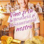 Real Vino la Brutaria si Restaurantul nostru in Aprilie 2019