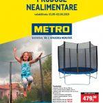 Metro Produse Nealimentare 01 Mai – 02 Iunie 2019