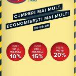 Hervis Cumperi mai Mult Economisesti mai Mult 6-9 Iunie 2019