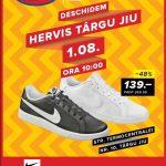 Hervis Deschidere magazin in Targu Jiu 01 – 11 August 2019