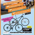 Hervis Sports Oferte Biciclete X-Fact Kilimanjaro Scirocco & Pegas 11-14 Iulie 2019