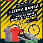 Hervis Sports Ultima Sansa 25 Iulie – 11 August 2019