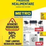 Metro Nealimentare 01 – 31 Iulie 2019