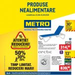 Metro Nealimentare 01 August – 01 Septembrie 2019