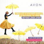 Avon Fast Start Bonus Program pentru Lideri 2019 – 2020