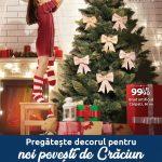 Carrefour Galati Decoratiuni Craciun 28 Noiembrie – 26 Decembrie 2019