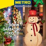 Metro Decoratiuni Craciun 1 Noiembrie – 1 Decembrie 2019