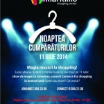Noaptea Cumparaturilor Maritimo Shopping Center 2014