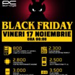 PC Garage Black Friday 17 Noiembrie 2017